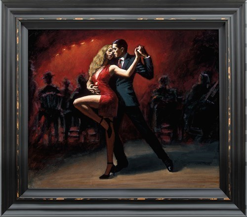 Image: Tango en San Telmo by Fabian Perez | Limited Edition on Canvas